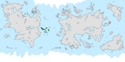 Location of Achróa on the world map.