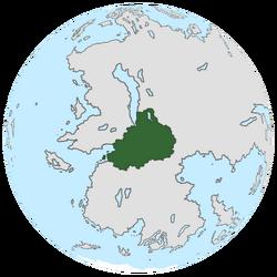 Location of Pohunskia on the globe.