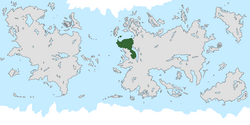 Location of Prunia on the world map.