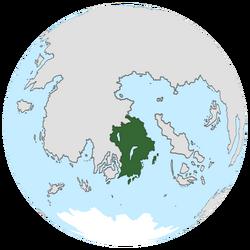 Location of Maronesia on the globe.