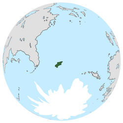 Location of Demonica on the globe.