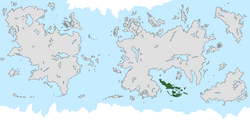 Location of Aquia on the world map.