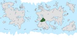 Location of Pohunskia on the world map.
