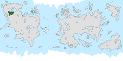 Location of Baesnia on the world map.