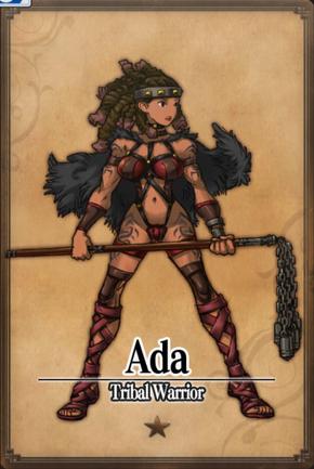 Ada - Tribal Warrior