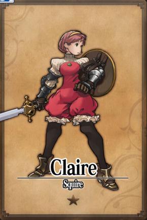 Claire - Squire