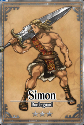 Simon - Borderguard