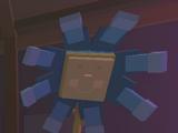 Noble Blue Flower