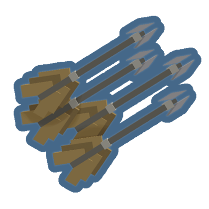 Actual Spiked Crossbow Bolts