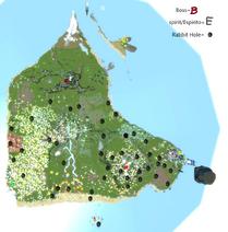 Fantastic Frontier map