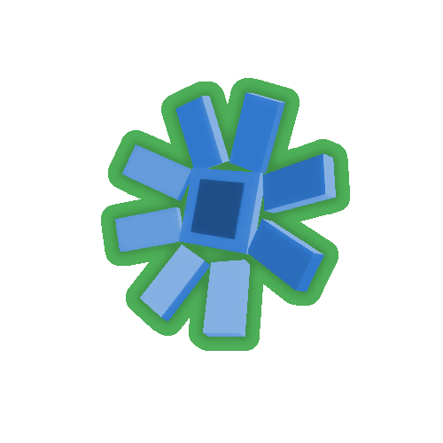 BlueSunflowerTop