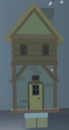 House On Legs worn