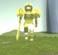 Ancient Golden Knight