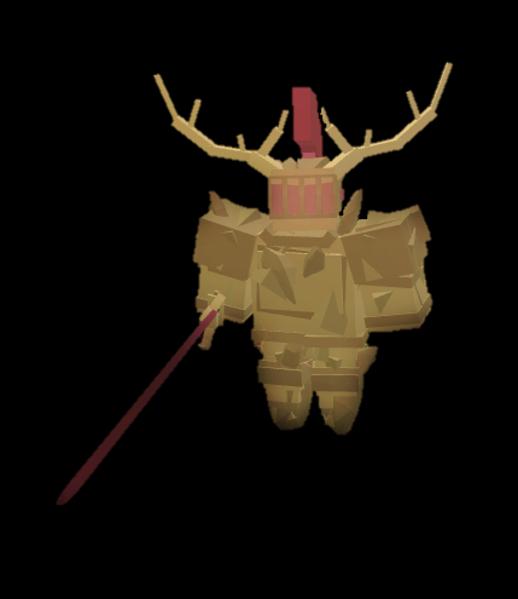 Corrupted Gold Knight Fantastic Frontier Roblox Wiki Fandom