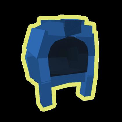 Blue Hood Large