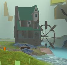 Hoodlum Falls Watermill