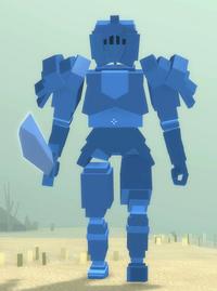 Ancient Cobalt Knight