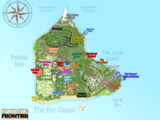 Map of Fantastic Frontier