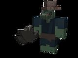 Fantastic Croc Shoulder Friend