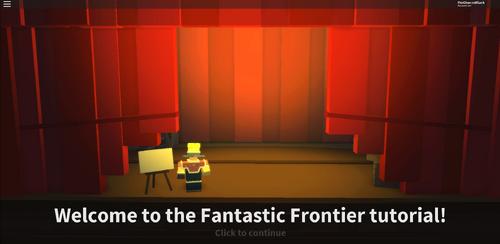 Tutorial | Fantastic Frontier -Roblox Wiki | FANDOM powered by Wikia