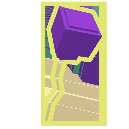 Purple Balloon Mushroom