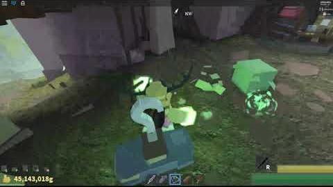 Attack hitting floor