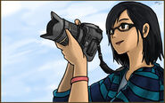 Girl with camera by shadowdevil502