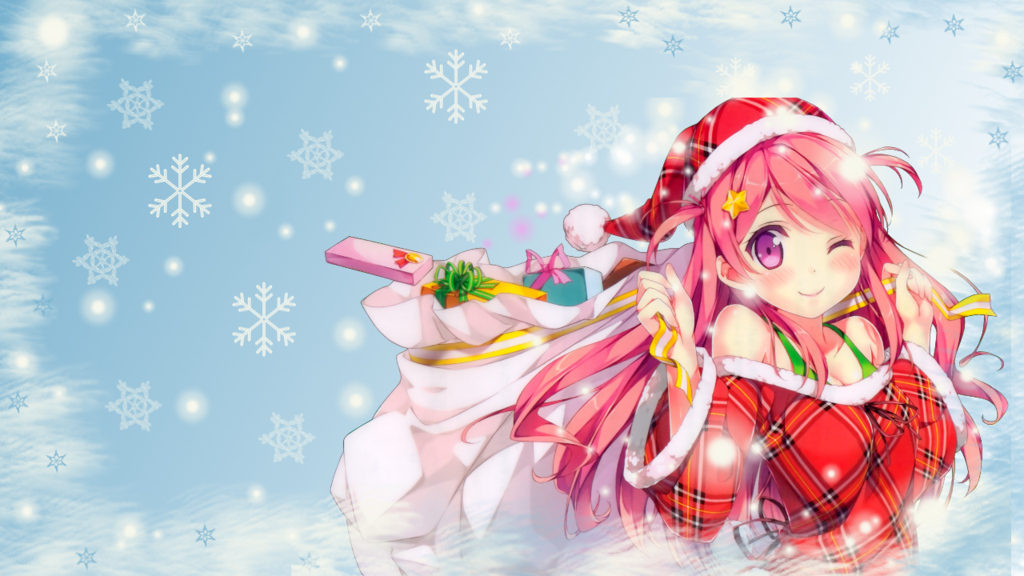 Image - Anime christmas wallpaper by chihahime-d8ahpe7.png ...