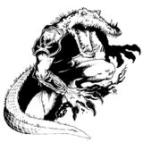 Человек-аллигатор