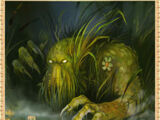 Болотное чудовище