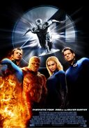 Fantastic Four - Rise of the Silver Surfer poster