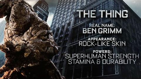 "Fantastic Four ""The Thing"" Power Piece HD 20th Century FOX"