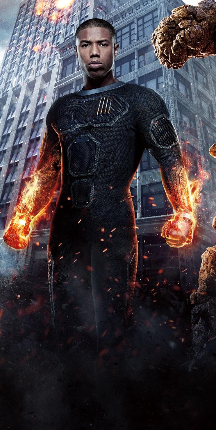 Human Torch 2015 poster crop