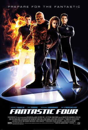 Fantastic Four Theatrical Poster