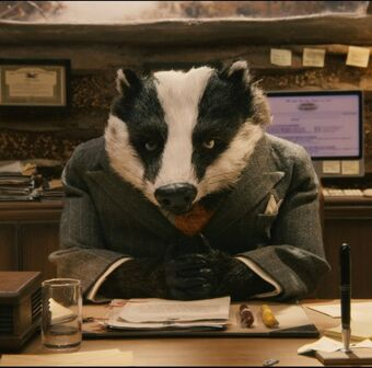 Clive Badger Fantastic Mr Fox Wiki Fandom