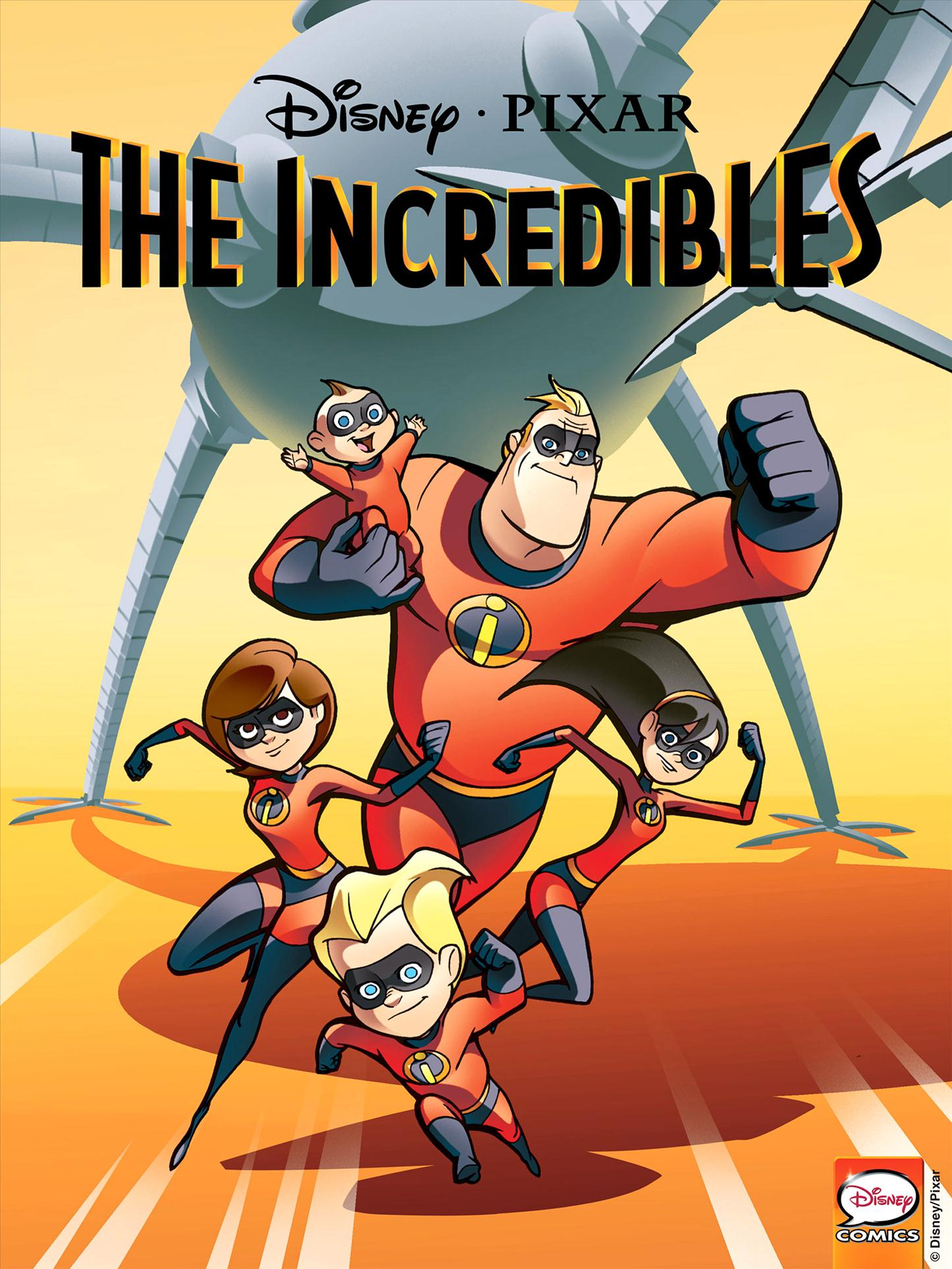 The Incredibles (Comic Book)   Fantasy Capes Wiki   Fandom