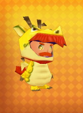 Gold Dragon Outfit Example