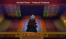Ancient Ruins - Treasure Chamber entrance