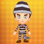 Prisoner's Outfit Example