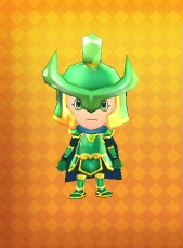 Spirit King's Armour Outfit Example