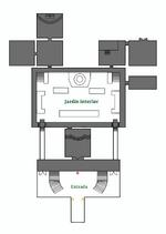Mapa castillo planta baja