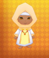 Light Robe Armour Outfit Example