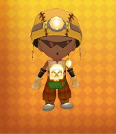 Grand Miner's Armour Outfit Example