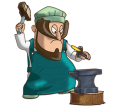 Blacksmith Transparent