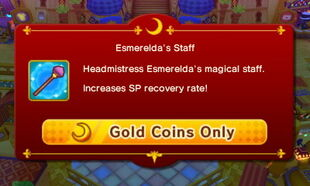 Esmeralda's Staff