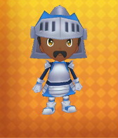 Iron Armour Outfit Example