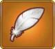 Snow-White Feather