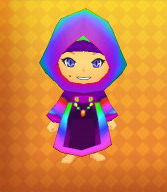 Rainbow Armour Outfit Example