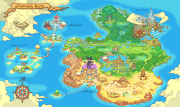 Fantasy Life World Map