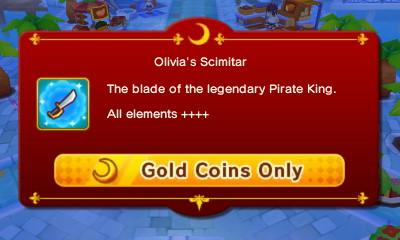 Olivia's Scimitar